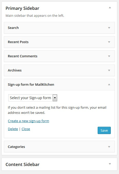 how to send email from wordpress form