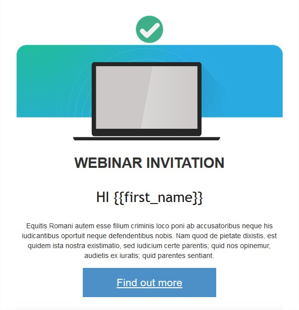 Custom field in personalized email   MailKitchen Email Marketing