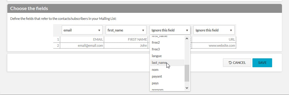 How to send personalized email campaigns: Hello {{first name